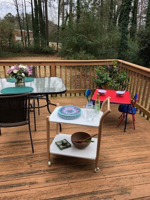 Meals On The Deck
